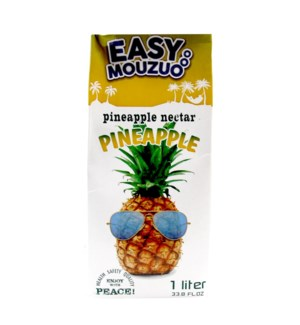 Juice Pineapple Easy Mouzuo 1 L x 12