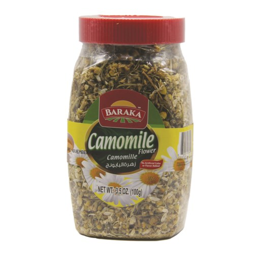 "Chamomile loose in Jar ""BARAKA"" 3.52 oz * 12"