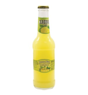 Lemon Mint  Kazouza 9 Fl oz x 24