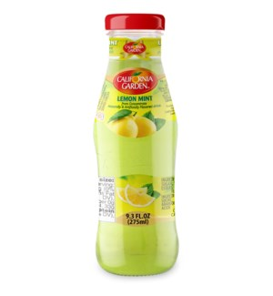 CALIFORNIA GARDEN LEMON MINT JUICE GLASS 275 ML *