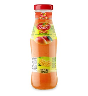 CALIFORNIA GARDEN MANGO JUICE GLASS 275 ML * 24