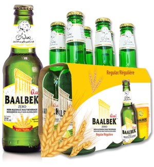 Baalbek Regular malt drink 330ml  * 24
