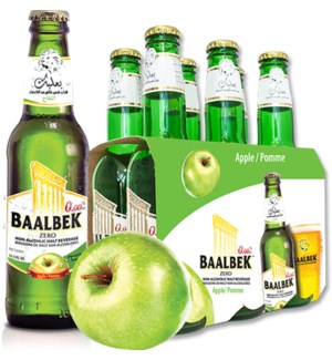 Baalbek Apple malt drink 330ml * 24