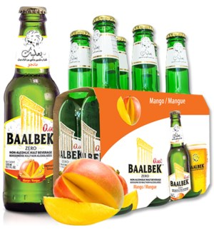 Baalbek Mango malt drink 330ml * 24