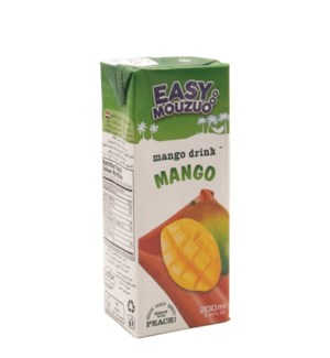 Juice Mango Easy Mouzuo 200 ml x 27