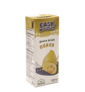 Juice Guava Easy Mouzuo 200 ml x 27