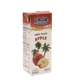 Juice Apple Easy Mouzuo 200 ml x 27