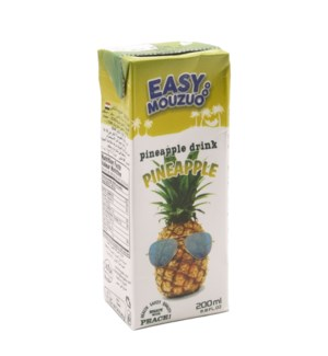 Juice Pineapple Easy Mouzuo 200 ml x 27