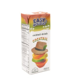 Juice Cocktail Easy Mouzuo 200 ml x 27