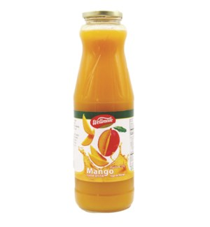 Mango Wellmade Juice in glass 1 L x 6