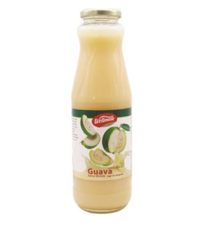White Guava Wellmade Juice in glass 1 L x 6