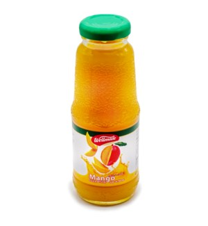 Mango Wellmade Mini Juice Bottle 250 ml x 24