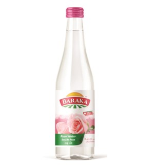"Rose Water ""Baraka"" 9.1 Fl oz x 24"