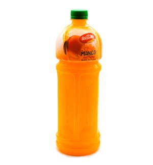"Mango Juice Drink Plastic Bottle ""Wellmade"" 1L * 1"