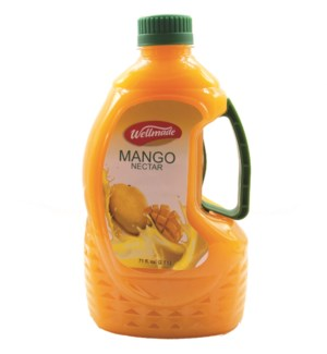 "Mango Juice Drink Jug W/Plastic Handle ""Wellmade"""