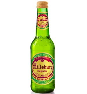 Hillsburg Non-Alcoholic Malt Drink Regular 330 ml.