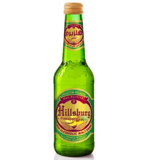 Hillsburg Non-Alcoholic Malt Drink Pineapple 330 m