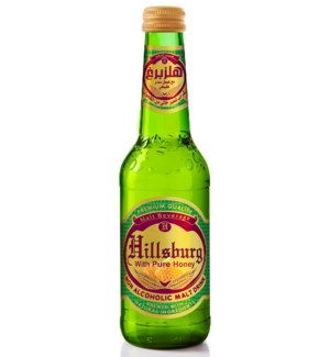 Hillsburg Non-Alcoholic Malt Drink Honey 330 ml.
