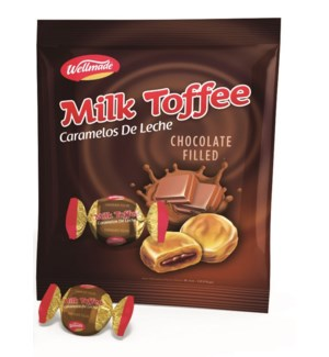 "Chocolate filled Milk Toffee in Bag ""Wellmade"" 750"