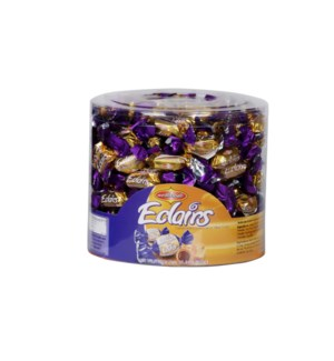 Wellmade Cocoa Eclairs Tub 800g x 8