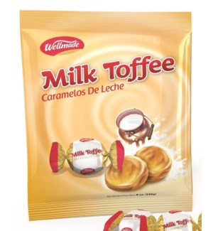 "Milk Toffee in bag  ""Wellmade"" 750g * 8"