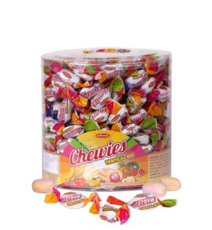 Wellmade Chewies Duo (Tropical) Tub 800g x 8