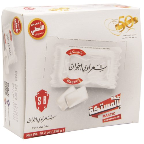 Sharawi Mastic Chewing Gum 100 Ct. x 24 (290g)