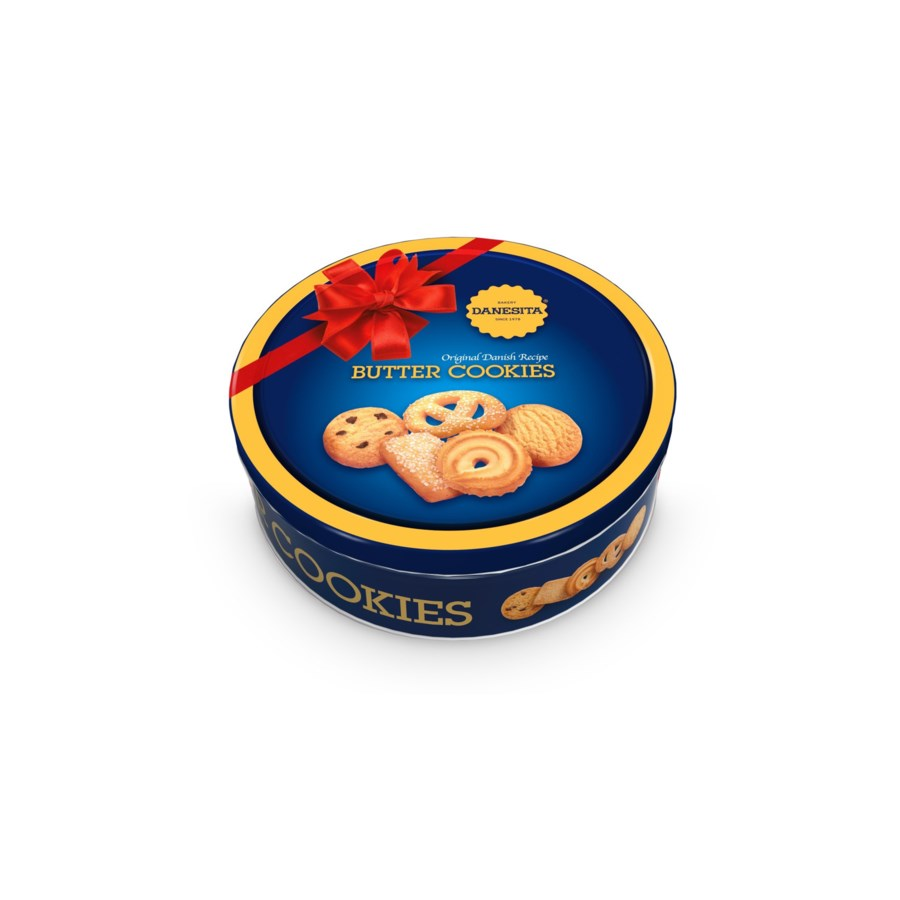 "Butter Cookies Tin ""DANESTA"" 340g * 12"
