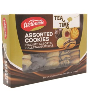 "Tea Time  Assorted Cookies ""WELLMADE"" 400g * 12"