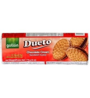 "Dueto Sandwich cookies ""Gullon"" 5 oz x 24"