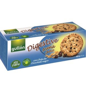 "DIGESTIVE OATS AND CHOCOLATE ""Gullon"" 425g * 15"