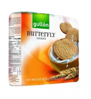 "Butterfly Cookies ""Gullon"" 495g x 10"
