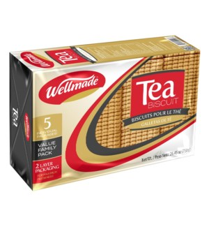 "Tea Biscuit Family Pack ""WELLMADE"" 800g * 10"
