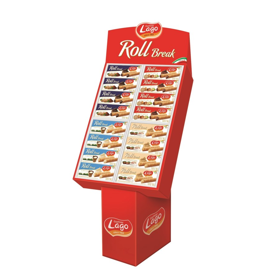 Roll Maxi Display Lago  80 g * 96