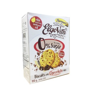 "Elgovita SugarFree Cookies w/ Chocolate Seeds ""Elg"