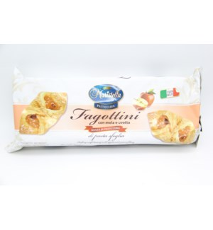Maristella - Apple and raisin puff pastry (Fagotti