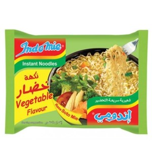 Indomie Instant Noodles Vegetable  Flavor 75g * 30