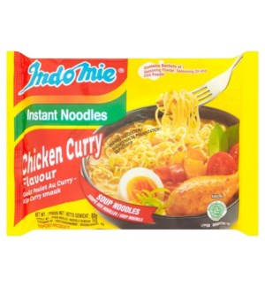 Indomie Instant Noodles Chicken Curry Flavor 80g *