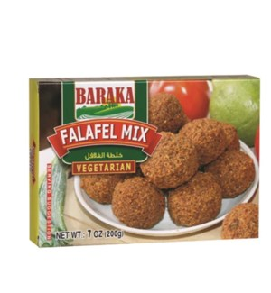 "Falafel Mix ""BARAKA"" 7 oz * 24"