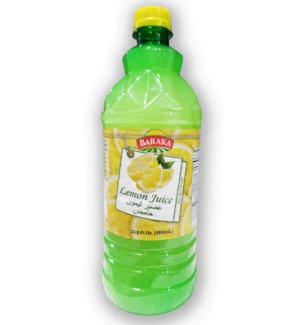 "Lemon Juice ""Baraka"" 32 fl. oz. * 12"