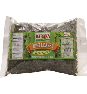 "Mint Leaves in bag ""Baraka"" 50g * 30"