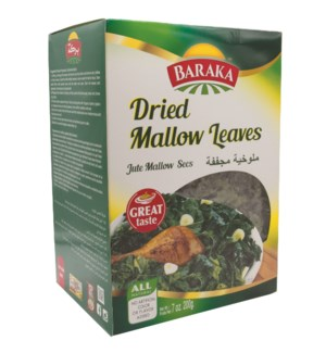 "Dry Mallow leaves ""Baraka"" 200g x 8"