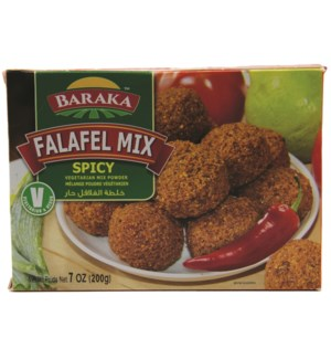 "Spicy Falafel Mix powder ""Baraka"" 200g * 24"