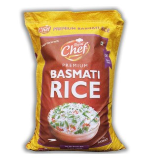 Royal Chef Basmati Rice 40Lbs