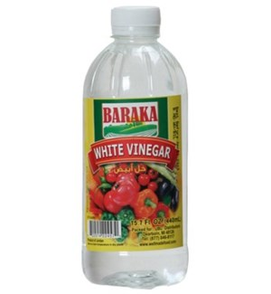 "White Vinegar Bottle ""Baraka"" 15.7 Fl oz  x 24"