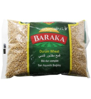 "Durum Shelled Wheat ""Baraka"" 2 Lbs  x 12"