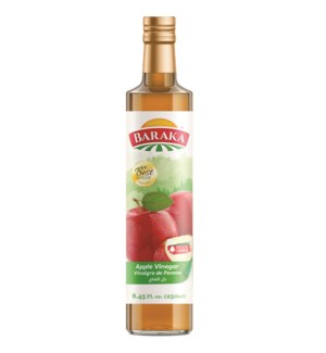 "Apple Vinegar Bottle ""BARAKA"" 15.7 Fl oz  x 24"