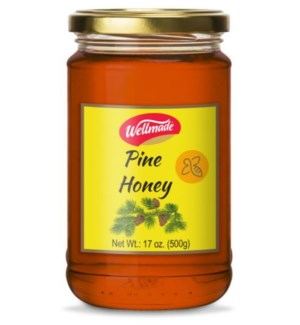 "Pine Forest Honey in glass jar  ""Wellmade"""" 500g *"