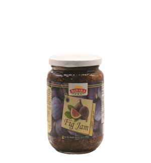 "Jam Fig With Sesame ""BARAKA"" 350g x 12"