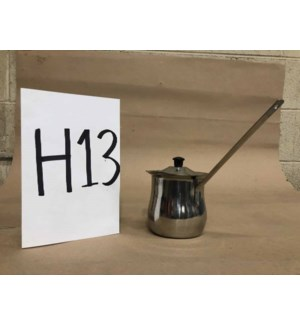 Turkish Coffee Pot w/ Lid   H-13